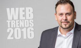 Die Webdesign Trends 2016