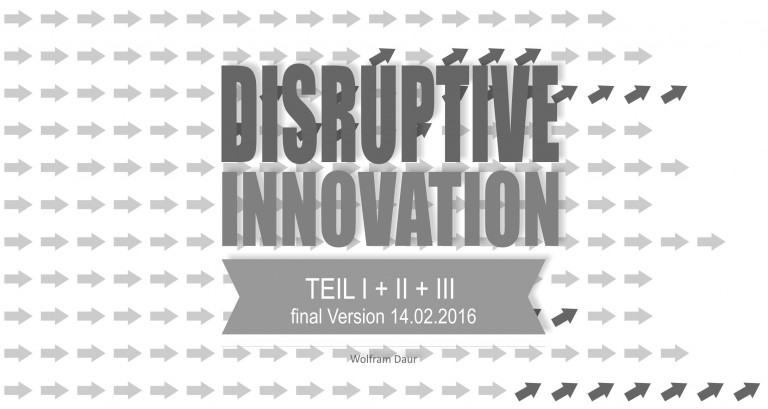 Read more about the article Disruptive Innovationen