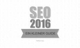 Suchmaschinenoptimierung SEO – Guideline