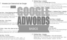 SEA – AdWords Basics