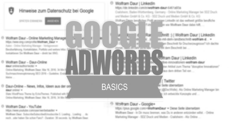 Read more about the article SEA – AdWords Basics