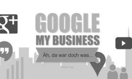 Google Places ade, hallo Google my Business