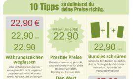 10 Tipps – So erstellst du deine Preise richtig!