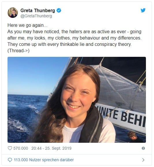 Greta Thunberg – spaltet die Nationen, aber warum?