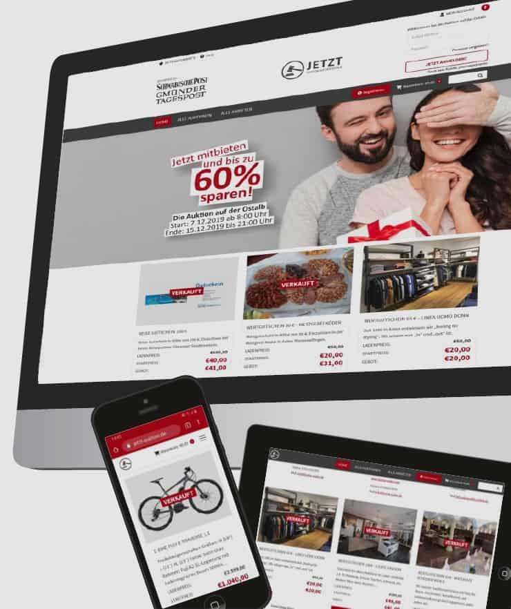 Auktionsplattform – White Label Lösung für Verlage