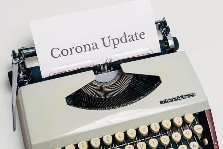 Corona, was bisher in Deutschland geschah.